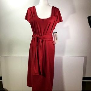 Jockey Person to Person Red Dress XL